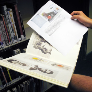 Using books for creative research