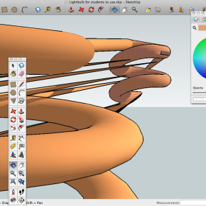 Introduction to Sketchup for creative work