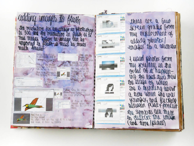 Working with sketchbooks