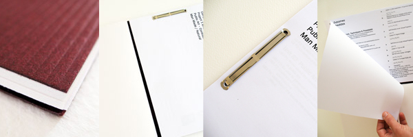 Brief and Sketchbook All in One