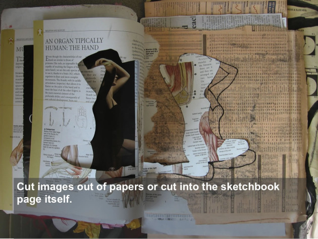Sketchbook Kick Start Sketchbook Cutting